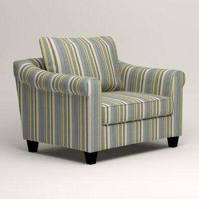 Brooke Armchair Upholstery: Dunagen Ocean