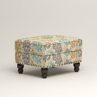 Landry Ottoman Upholstery: Wilmer Blooming Pool