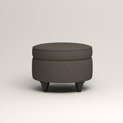 Olivet Storage Ottoman Upholstery: Lizzy Graphite