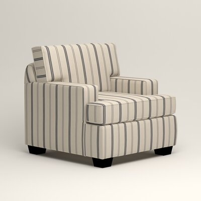 Clarkedale Armchair Upholstery: Mcallister Indigo