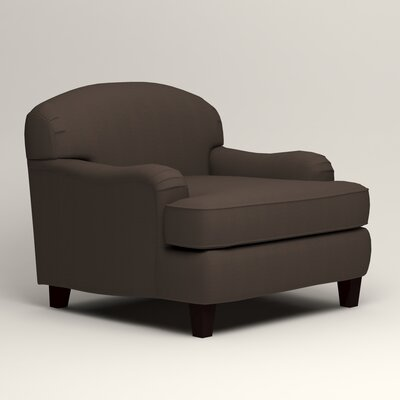 Cheshire Armchair Upholstery: Microsuede Charcoal