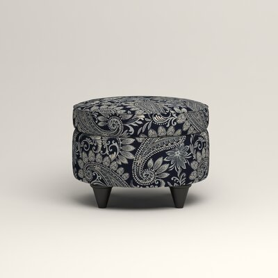 Olivet Storage Ottoman Upholstery: Lizzy Prussian