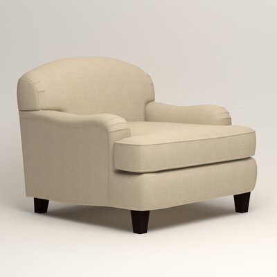 Cheshire Armchair Upholstery: Hilo Flax