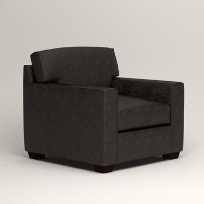Pratt Leather Chair Upholstery: Liberty Espresso