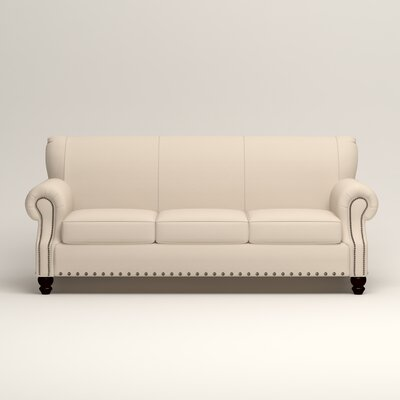 Landry Sofa Upholstery: Microsuede Oyster