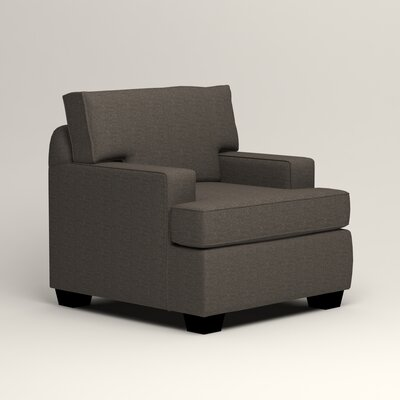 Clarkedale Armchair Upholstery: Lizzy Graphite