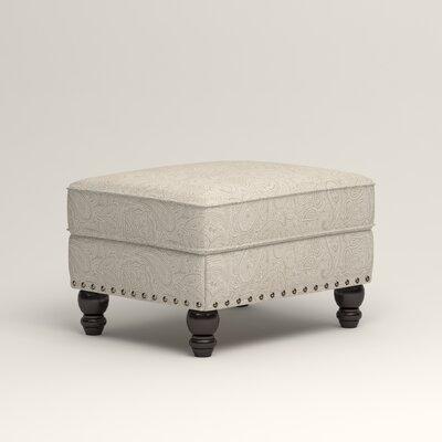 Landry Ottoman Upholstery: Ronan Linen