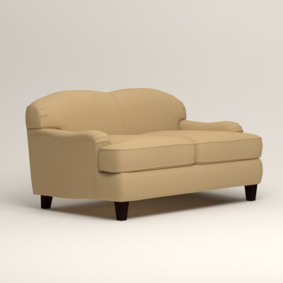 Cheshire Loveseat Upholstery: Trillion Saffron