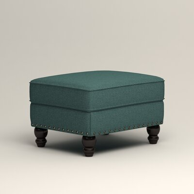 Landry Ottoman Upholstery: Lizzy Prussian