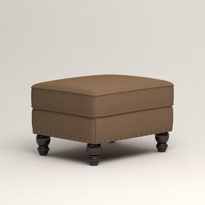 Landry Ottoman Upholstery: Jackson Bark Microsuede