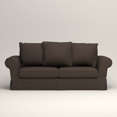 Owen Sofa Upholstery: Microsuede Charcoal