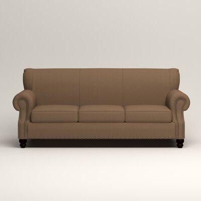 Landry Sofa Upholstery: Microsuede Cappucino
