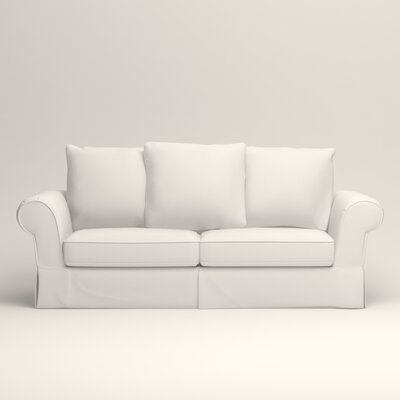 Owen Sofa Upholstery: Classic Bleach White