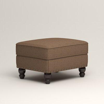 Landry Ottoman Upholstery: Lizzy Hemp