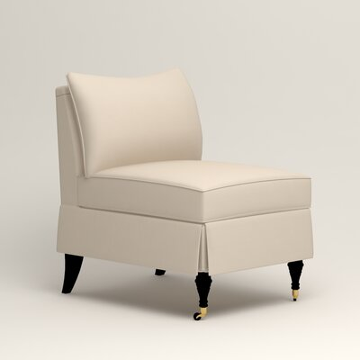 Kendall Slipper Chair Color: Tillery Vanilla