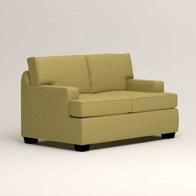 Clarkedale Loveseat Upholstery: Lizzy Kiwi