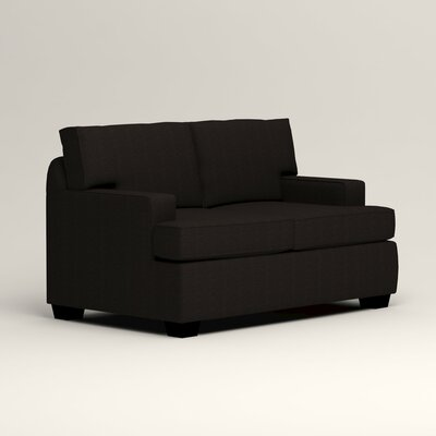Clarkedale Loveseat Upholstery: Hilo Graphite