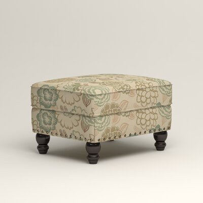 Landry Ottoman Upholstery: Okeefe Seabreeze