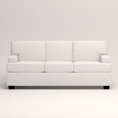 Clarkedale Sofa Upholstery: Classic Bleach White