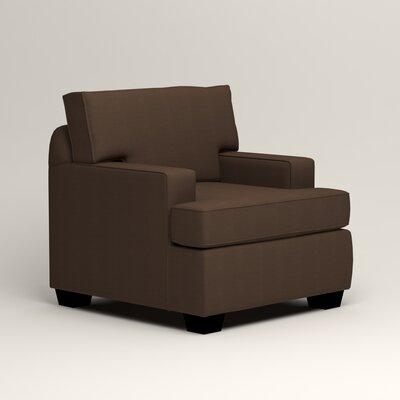 Clarkedale Armchair Upholstery: Bayou Coffee