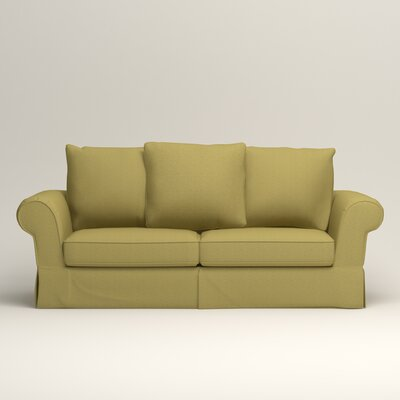 Owen Sleeper Sofa Upholstery: Bailey Avocado Blended Linen