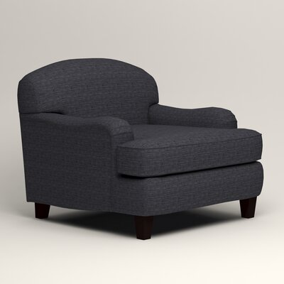 Cheshire Club Chair and a half Upholstery: Laney Navy