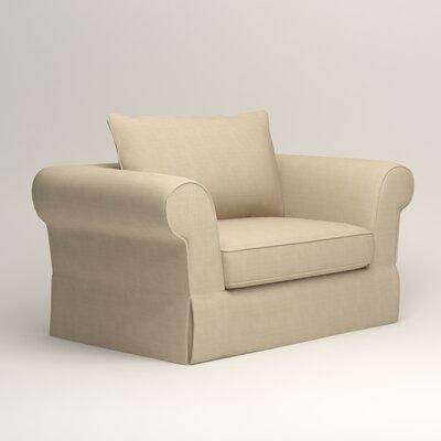 Owen Armchair Upholstery: Hilo Flax
