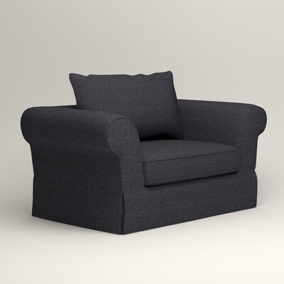 Owen Armchair Upholstery: Laney Navy