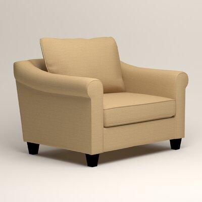 Brooke Armchair Upholstery: Trillion Saffron