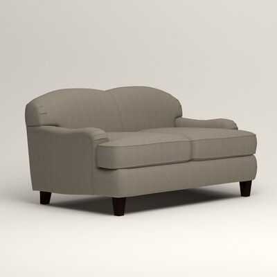 Cheshire Loveseat Upholstery: Hilo Seagull