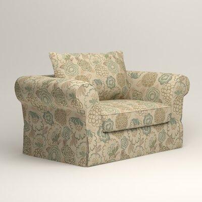 Owen Armchair Upholstery: Okeefe Seabreeze