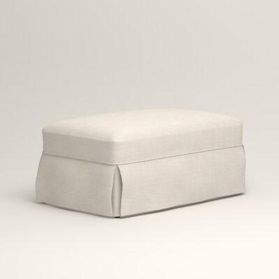 Owen Ottoman Upholstery: Bevin Natural