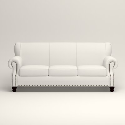 Landry Sofa Upholstery: Classic Bleach White