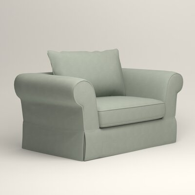 Owen Armchair Upholstery: Bayou Spray