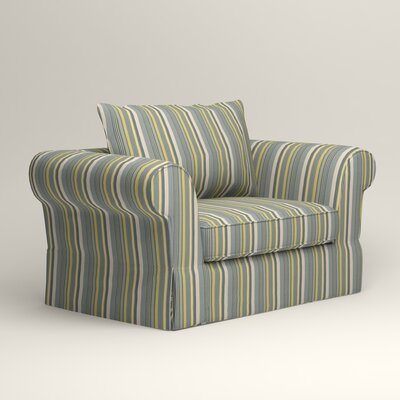 Owen Chair Upholstery: Dunagen Ocean