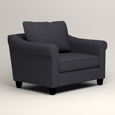 Brooke Armchair Upholstery: Laney Navy