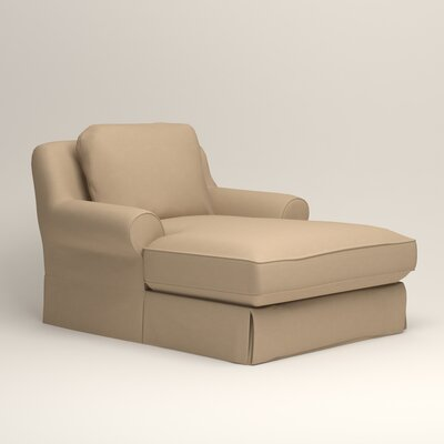 Owen Chaise Upholstery: Bayou Stone