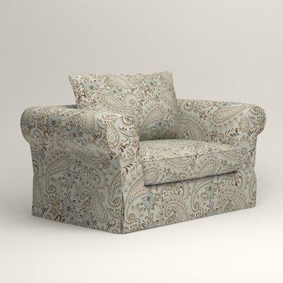 Owen Armchair Upholstery: Nadia Moonstone
