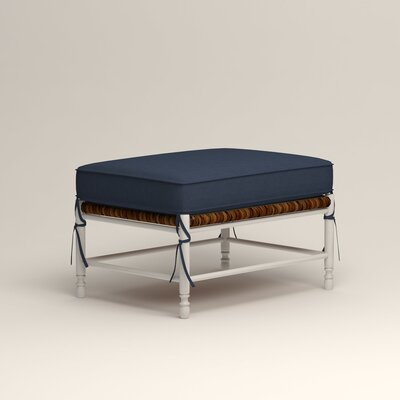 Stephanie Ottoman Upholstery: Griffin Commodore Twill