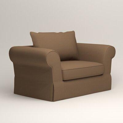 Owen Chair Upholstery: Microsuede Cappucino