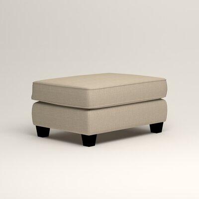 Brooke Ottoman Upholstery: Denton Beige