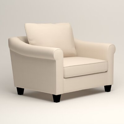 Brooke Armchair Upholstery: Microsuede Oyster