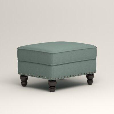Landry Ottoman Upholstery: Bryant Calypso Textured Slub