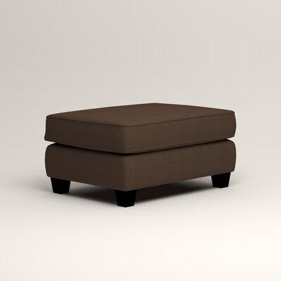 Brooke Ottoman Upholstery: Bayou Coffee