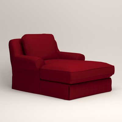 Owen Chaise Upholstery: Bayou Flame