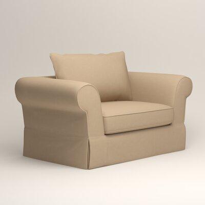 Owen Armchair Upholstery: Bayou Stone