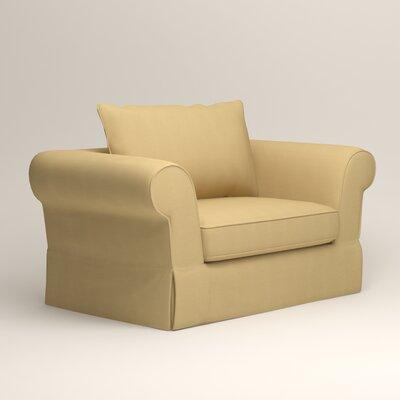 Owen Armchair Upholstery: Bayou Sunshine
