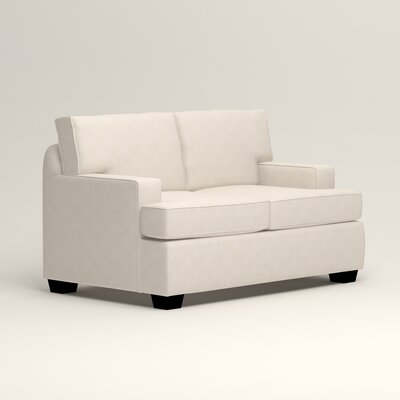 Clarkedale Loveseat Upholstery: Bevin Natural