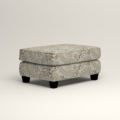 Brooke Ottoman Upholstery: Nadia Moonstone