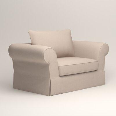 Owen Armchair Upholstery: Lizzy Linen